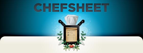 CHEFSHEET
